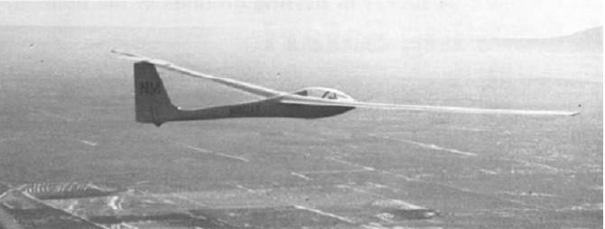 GA-III Mescalero glider