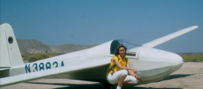 Bertha Ryan's first flight
