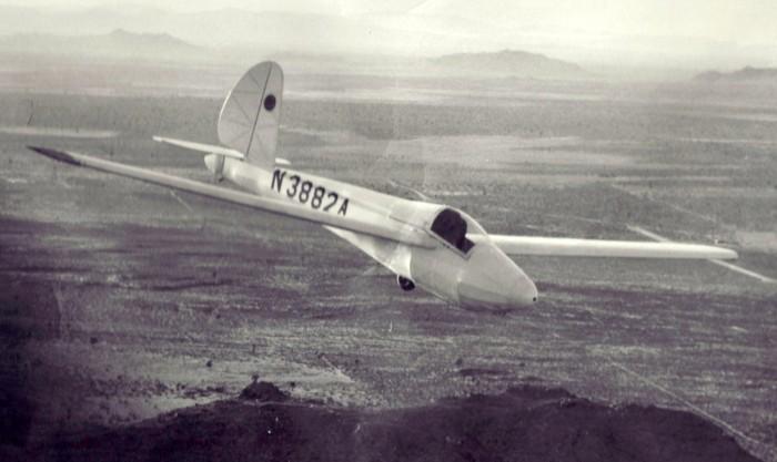 SGS 1-26 glider