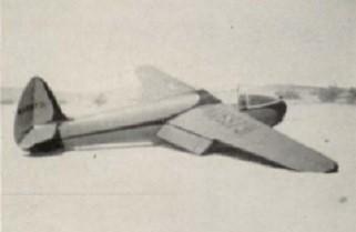 Ray Parker's glider Tiny Mite
