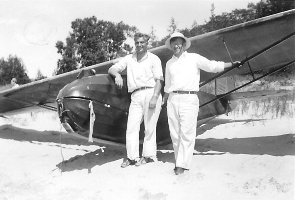 Art Schultz and Franklin sailplane