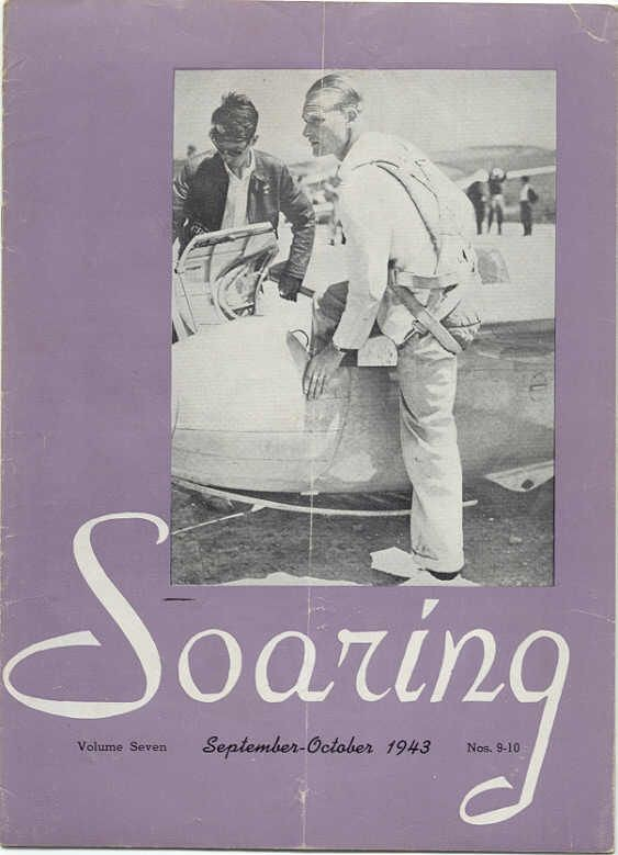 Soaring Magazine - Sept - Oct 1943