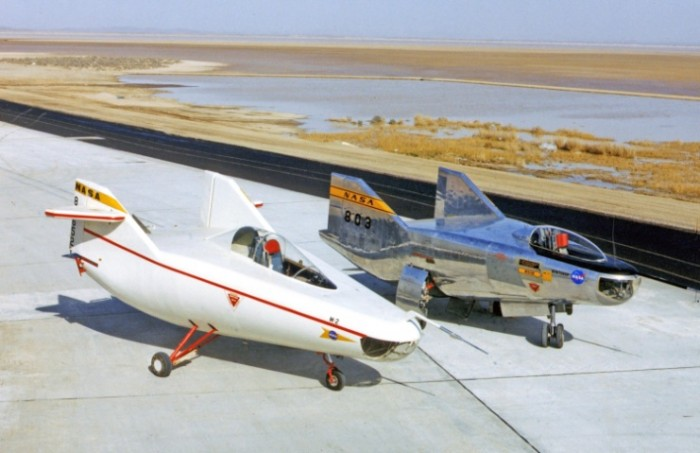 M2-F1 and M2-F2 Lifting Bodies