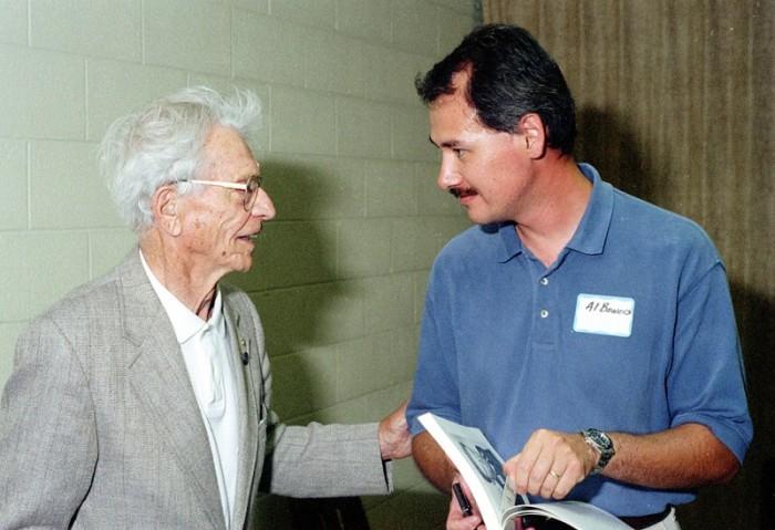 Rudi Opitz and Al Bowers