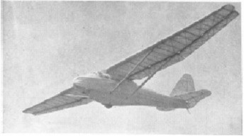 The Gross F-5 glider