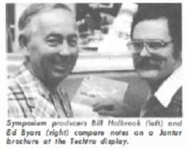 Bill Holbrook and Ed Byars
