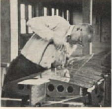 Bill Coverdale working on HP-11 wing